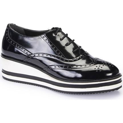 Polaris 62.309150.Z Siyah Kadın Ayakkabı