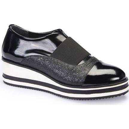Polaris 62.309151.Z Siyah Kadın Ayakkabı