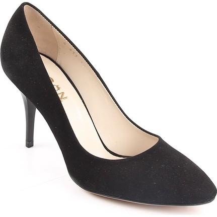 Gön 32431    Siyah Kadın Topuklu Ayakkabı