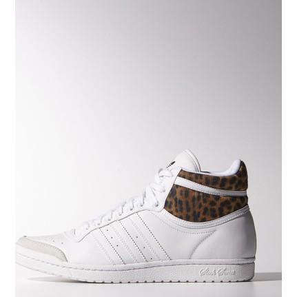 Adidas Top Ten Hi Sleek Kadın Beyaz Spor Ayakkabı (M20833)