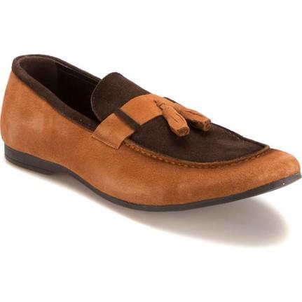 Forester 381 M 2301 Taba Kahverengi Erkek Deri Ayakkabı