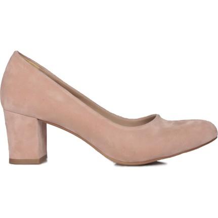Loggalin 580710 031 727  Pudra    Kadın Topuklu Ayakkabı