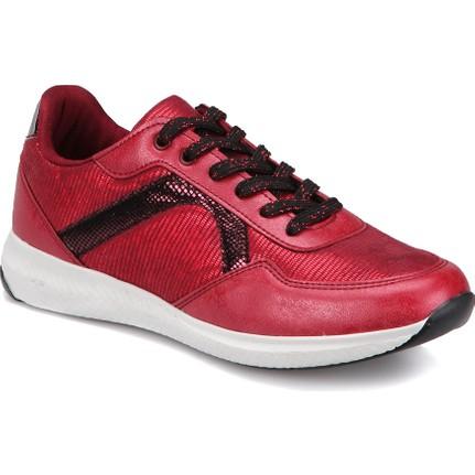 Art Bella Cw17048 Bordo Kadın Athletic Ayakkabı