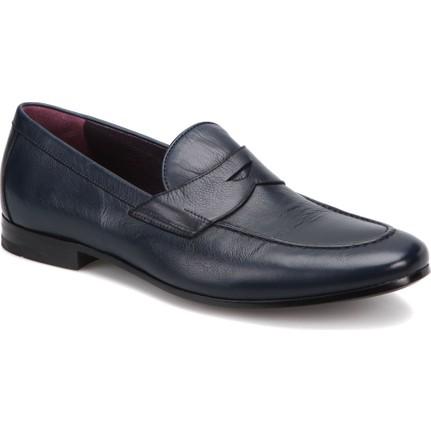 Mirage 9221 Lacivert Erkek Deri Modern Ayakkabı