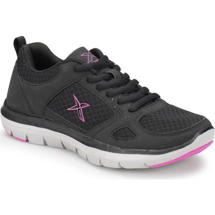 Kinetix FLEX COMFORT TX W Siyah Gri Pembe Kadın Yürüyüş Ayakkabısı