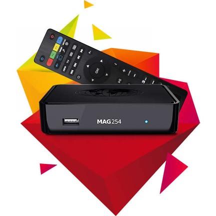 Mag 254 Ip Tv Settopbox Uydu Alıcısı
