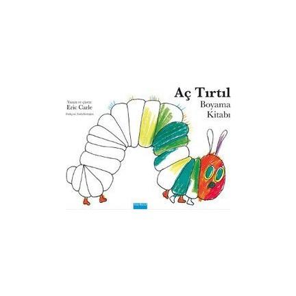 Aç Tırtıl Boyama Kitabı Eric Carle Fiyatı Taksit Seçenekleri