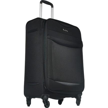 c1ba2ed849990 Pierre Cardin Kumaş Valiz Orta Boy Siyah 2300 Fiyatı