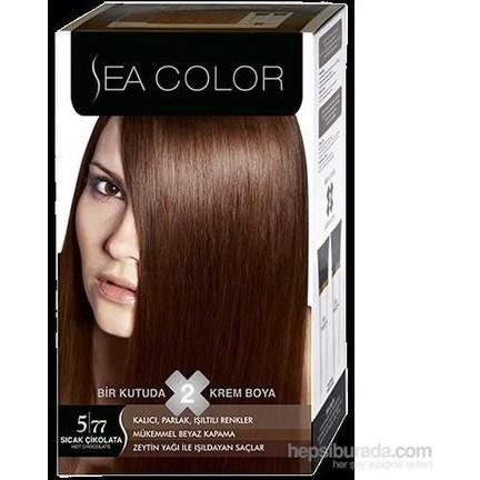 Sea Color 577 Sıcak çikolata Saç Boyası Fiyatı