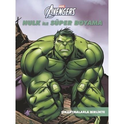 Boyama Sayfasy Hulk Boyama Sayfasi