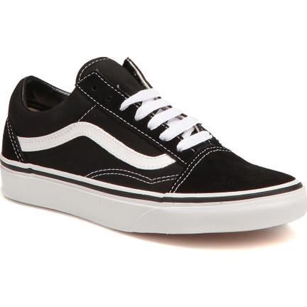 5210acc56a Vans Old Skool Siyah Kadın Sneaker Ayakkabı Fiyatı