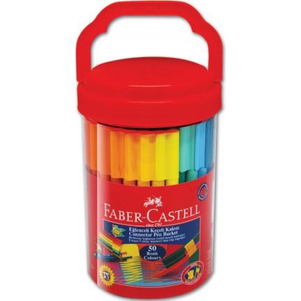 Faber Castell Eğlenceli Keçeli Kalem 50li 5068111550 Fiyatı