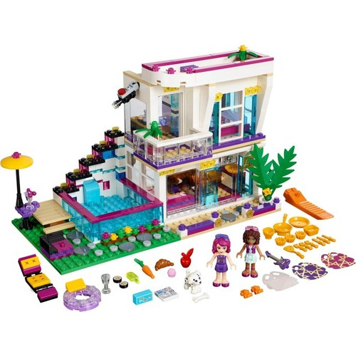 Lego Friends Livis Pop Star House 41135
