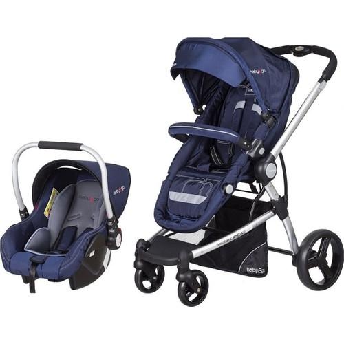 Baby2Go Lirica Travel Sistem Bebek Arabası Lacivert