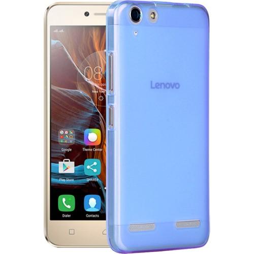 Microsonic Lenovo K5 Kılıf Transparent Soft Mavi