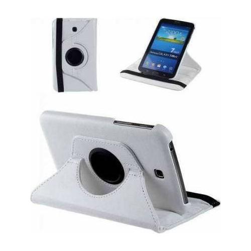 Samsung Galaxy Tab Note P600 360 Dönebilen Beyaz Stand Kılıf