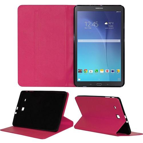 Samsung Galaxy Tab 3 T210 Standlı Kılıf Pembe (Smart Case)