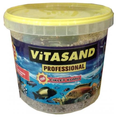 Vitasand Pro-04 Yıkanmış Akvaryum Kumu Midye Kırığı 20kg