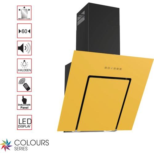 Termikel Lumex By60 (2016) Sarı Davlumbaz