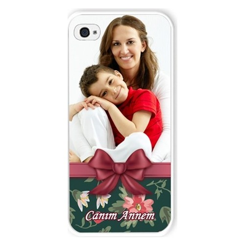 BuldumBuldum Kurdeleli Anneler Günü - İphone 6 Plus Kılıfı Beyaz