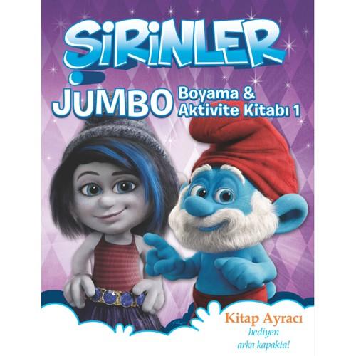 Şirinler Jumbo Boyama & Aktivite Kitabı1