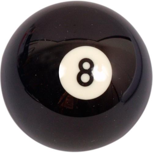 Leyaton Bilardo Topu Belçika Tek Top Siyah No:8