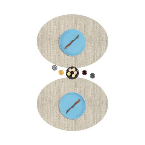 Dinner Design Taupe Oval Model 36x48 cm