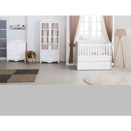 Aymini Arman Mdf Mini Bebek Odası Beyaz