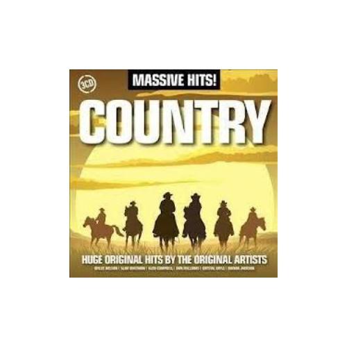 Varıous Artısts - Massıve Hıts! : Country