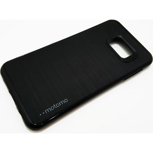 Motomo Samsung Galaxy S6 Edge Plus Motomo Siyah Kenar Silikon Kılıf