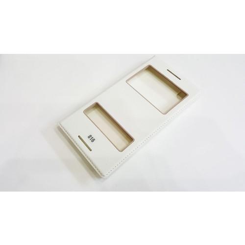 Magnum Htc 816 Zore Beyaz Magnum Kapaklı Pencereli Kılıf