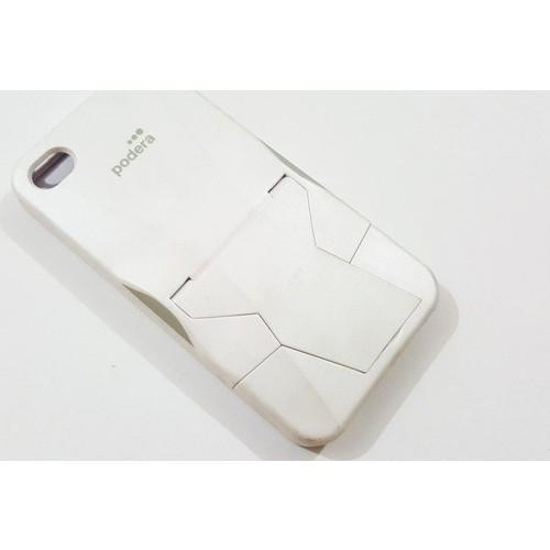 Mobillife Apple İphone 4/4S Podera Standlı Silikon Kılıf