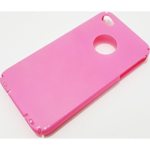 Mobillife Apple İphone 4/4S Pembe Rubber Kılıf