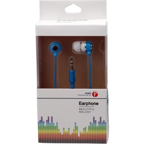 Vcom M231-L Mavi Kulak İçi Kulaklık