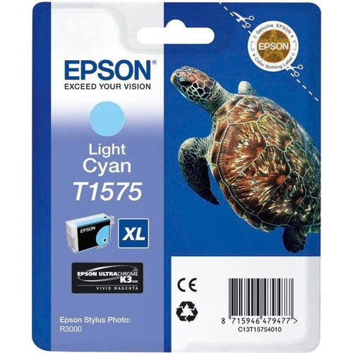 Epson T157540 R3000 Lıgt Cyan Kartuş