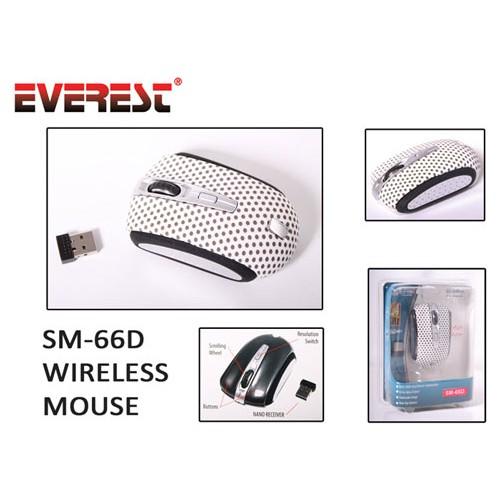 Everest Sm-66D Nokta Desenli Kablosuz Mouse