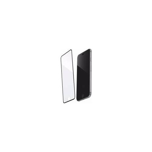 Inovaxis Iphone 6 ( Komple Ön Yüz-Kenarları da Kapatır) Kırılmaya Dayanıklı Temperli Cam Ekran Koruyucu Siyah