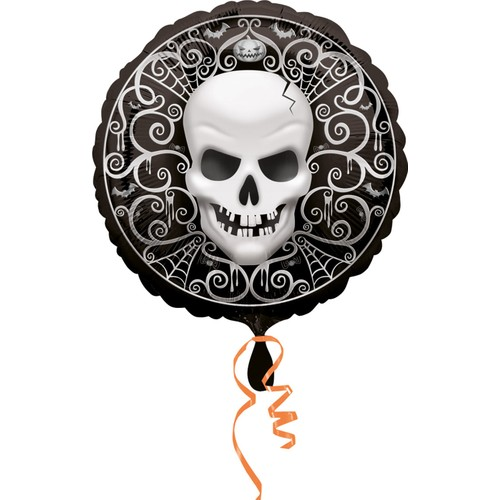 KullanAtMarket Halloween Kuru Kafa Folyo Balon 35cm - 1 Adet