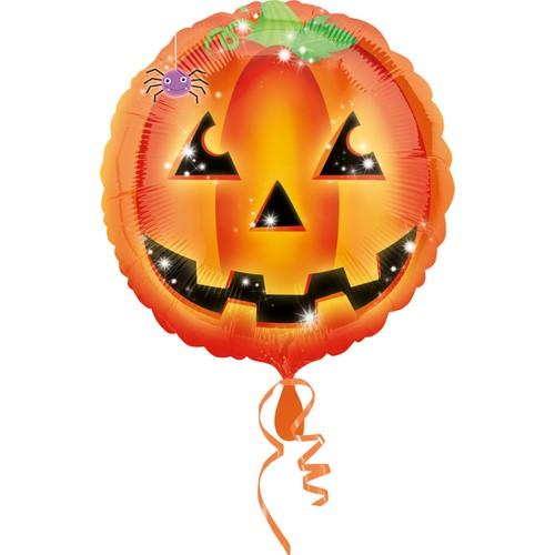 KullanAtMarket Turuncu Halloween Folyo Balon 35cm -1 Adet
