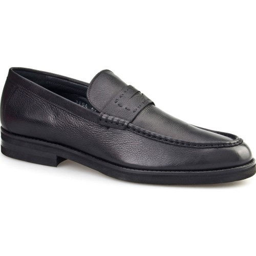 Cabani Light Taban Klasik Erkek Ayakkabı Siyah Napa Deri