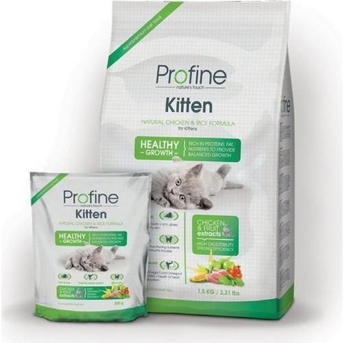 Profine Doğal Tavuklu Ve Pirinçli Yavru Kedi Maması 3 Kg