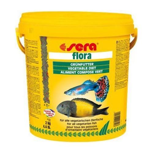 Sera Flora Balık Yemi 10 Lt - 2 Kg