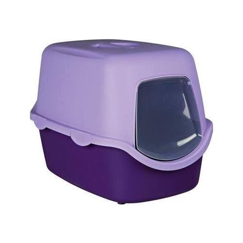 Trixie Kedi Kapali Tuvaleti, 40X40X56Cm, Mor - Krem