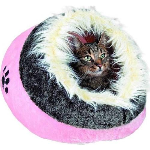 Trixie Kedi Köpek Peluş Yatak Pembe 35X26X41 Cm