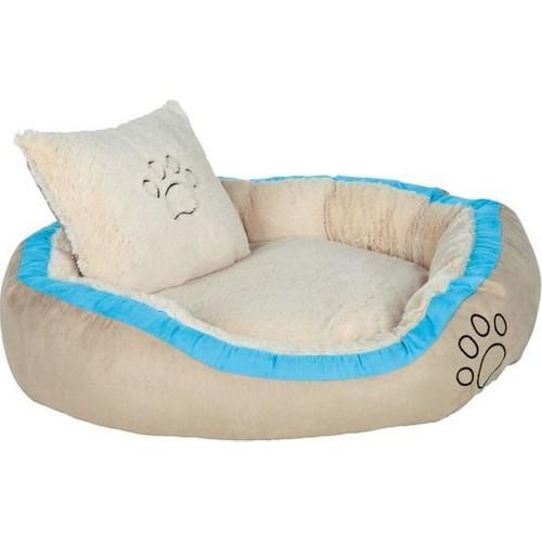 Trixie Extra Yumuşak Yikanabilir Kumaş Köpek Yatağı 120X80 Cm (Turkuaz)