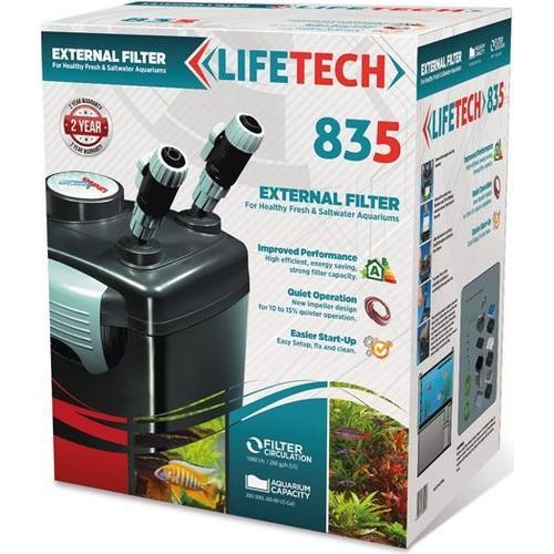 Life Tech 835 Akvaryum Dış Filtre 3 Kovali Full Dolu 1100 L - H 22W
