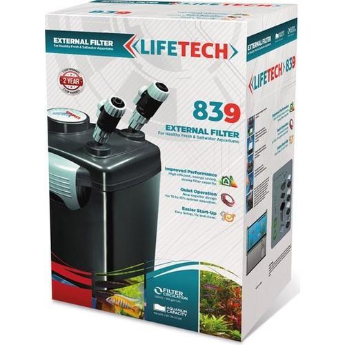 Life Tech 839 Akvaryum Dış Filtre 4 Kovali Full Dolu 1500 L - H 35W