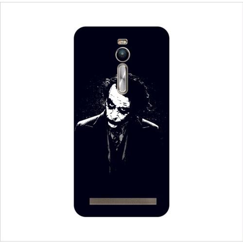 Bordo Asus Zenfone 2 Kapak Joker Kılıf Baskılı Silikon