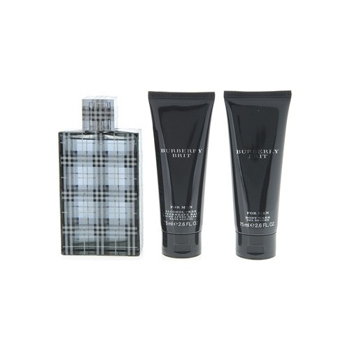 Burberry Brit EDT 100Ml Erkek Parfüm Set