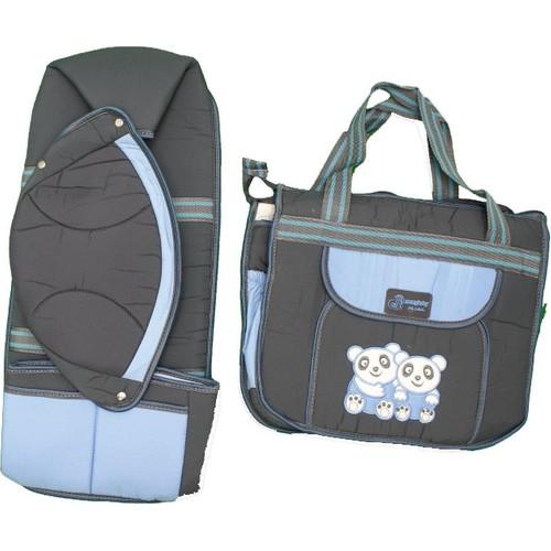 Nenny Baby T-206 Micro 2 Li Set Mavi-Füme